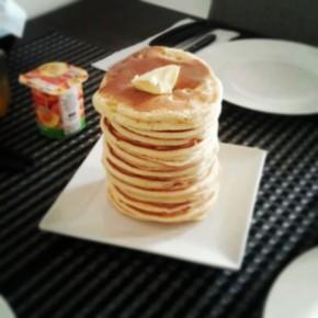 American Vanilla Pancakes