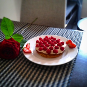Raspberry Caramel Tarte