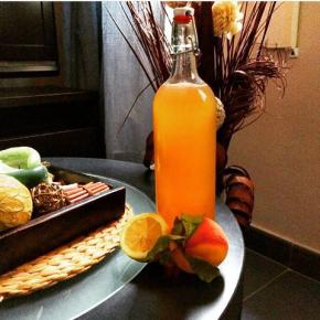 Grapefruit-Maplesyrup-Lemonade
