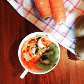 Carrot Kiwi Salad