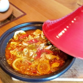 Chicken Lemon Tajine
