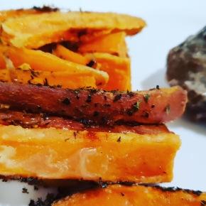 Oven Sweet PotatoFries