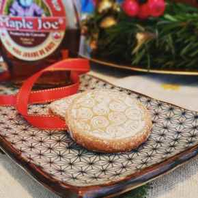 Christmas Maple SyrupCookies