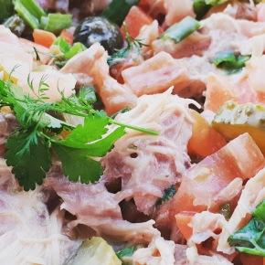 Chicken Yoghurt Salad