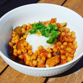 Chickpea Turkey Tajine