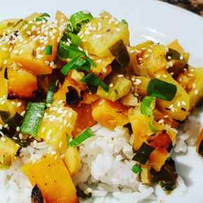 Vegan Pumpkin and Pineapple Curry