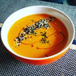 Thai Styled Sweet Potato Soup